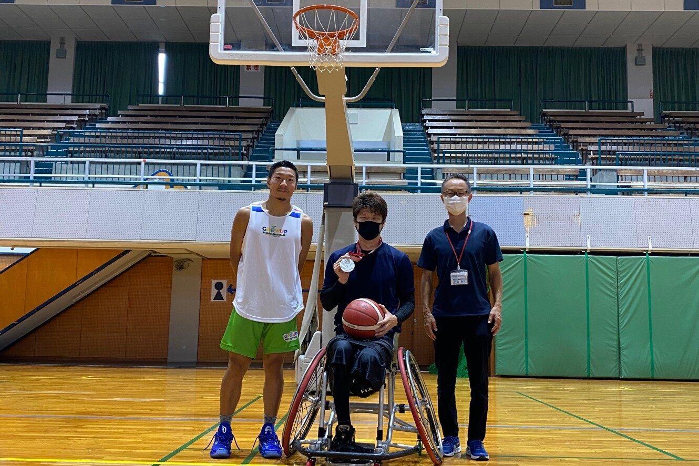 パラリンピック銀メダル 秋田啓 楯昌宗 岐阜バスケットボールスクール