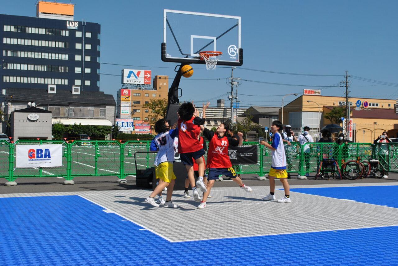 3×3バスケ OKBぎふ清流アリーナ